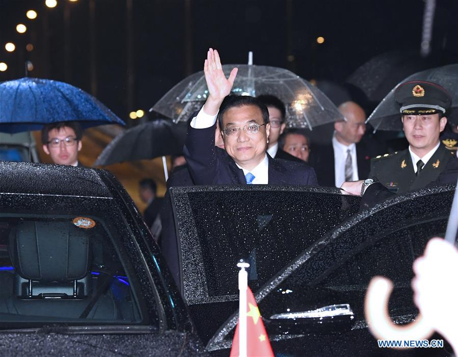 Chinese premier's visit to reset ties with Japan