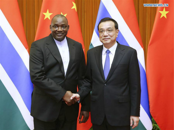 China, Gambia agree on closer cooperation