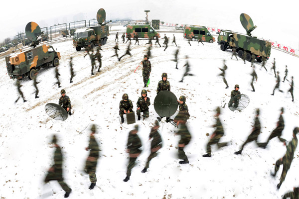 Military hones its skills in exercise