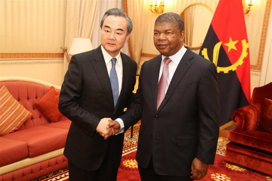 China hopes to promote ties with Angola to new stage: FM