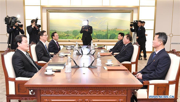 S Korea, DPRK agree to march, cheer together during 2018 Winter Olympics