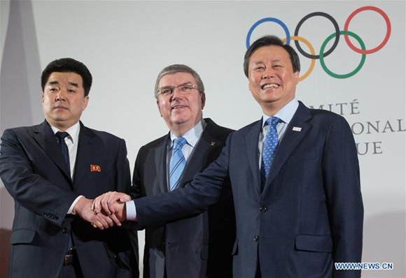 DPRK, S Korea to march together at PyeongChang Olympic Winter Games: IOC