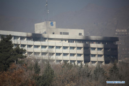 18 killed in Kabul hotel attack, including 14 foreigners