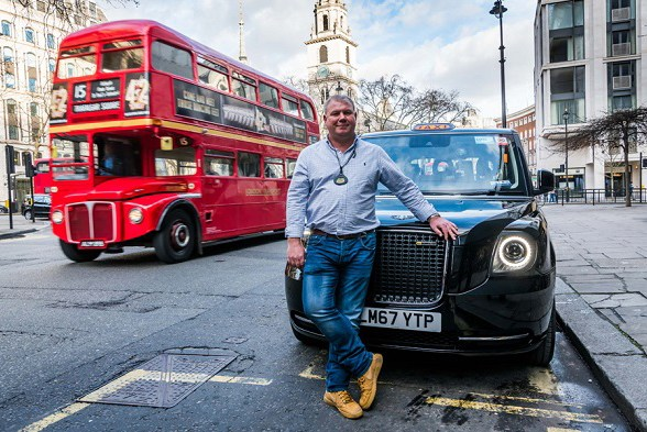 London's first electric black cab goes into service