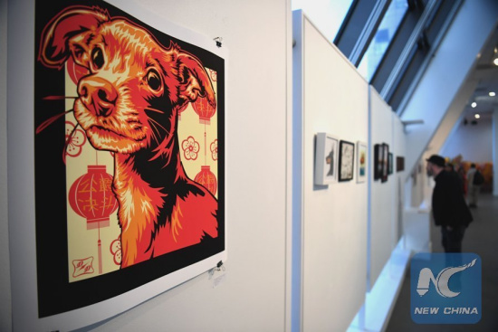 Chinese New Year of Dog has its day, making mark on U.S. art scene