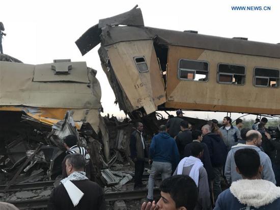 Death toll in Egypt's train crash rises to 15