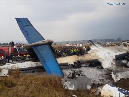 49 killed, 22 injured in US-Bangla Airlines plane crash in Nepal