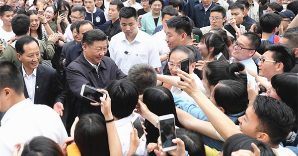 President Xi stresses cultivation of legal talent ahead of Youth Day