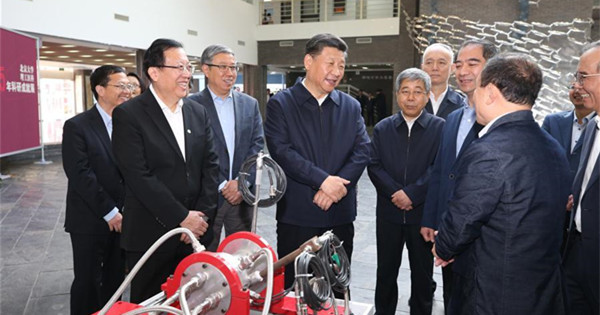 Xi calls for building world-class universities with Chinese characteristics