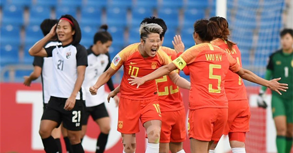 China beats Thailand to get bronze of AFC Women
