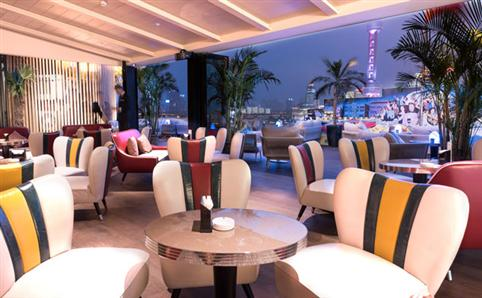 New Bund-side terrace bar