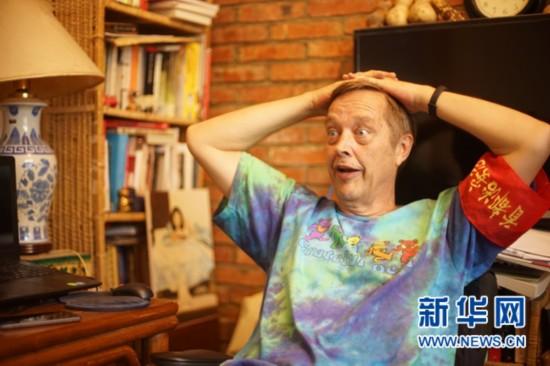 Photo of Gao Tianrui. (Photo/Xinhua)