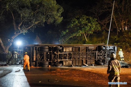 Hong Kong bus driver appears in court over fatal crash, may face