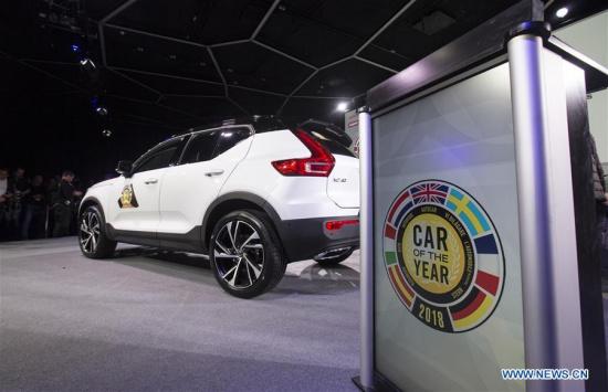 Volvo XC40 wins 'Car of the Year 2018' at Geneva Motor Show