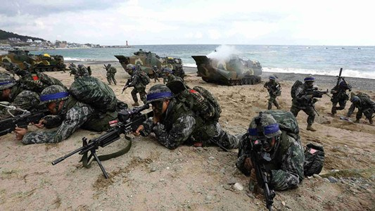 S Korea, U.S. launch joint war game