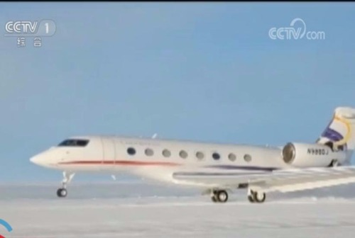 China commercial aircraft makes first-ever Antarctica landing