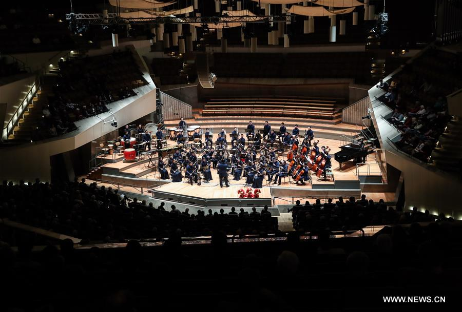 Grand Chinese New Year Concert held in Berlin