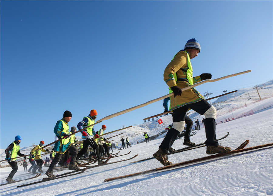 Winter tourism makes Altay come alive