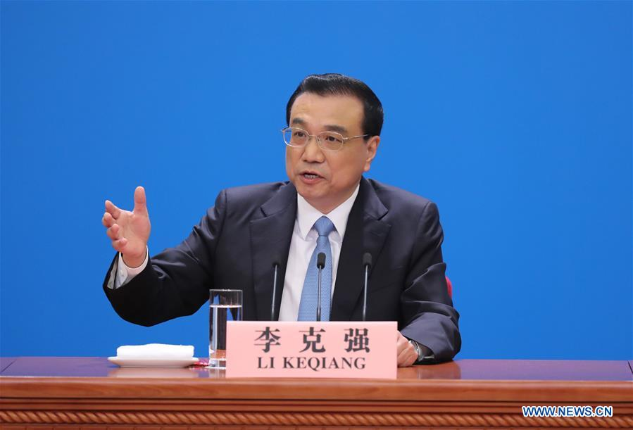 Chinese Premier meets press